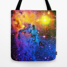 Fox Fur Nebula II Tote Bag