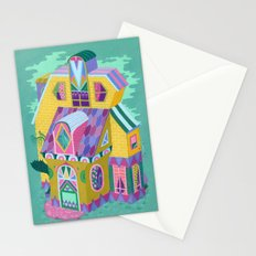 Yellow House Stationery Cards