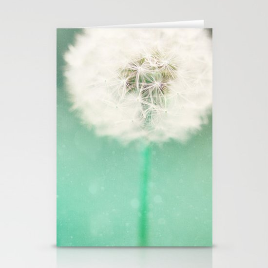Dandelion Seed Stationery Card