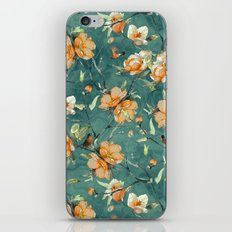 Flowers & Birds iPhone & iPod Skin