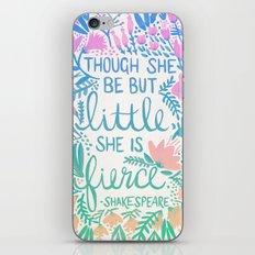 Little & Fierce – Lavender Mint Ombré iPhone & iPod Skin