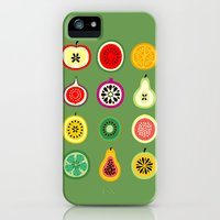 iPhone Cases featuring Banca de Frutas by Marcelo Romero
