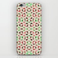 Christmas Shards iPhone & iPod Skin