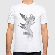 Architect Mens Fitted Tee Ash Grey SMALL