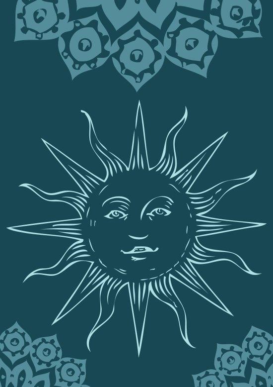 Sinshine pattern Art Print
