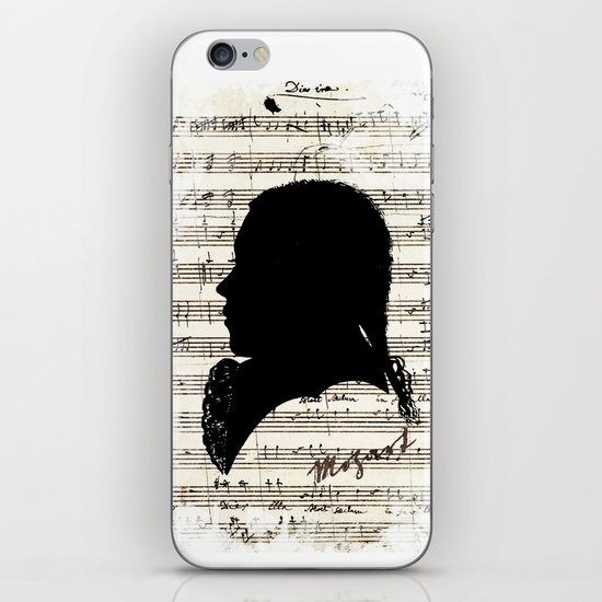 Mozart - Dies Irae iPhone & iPod Skin