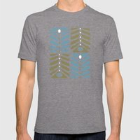 MCM Copenhagen Mens Fitted Tee Tri-Grey SMALL
