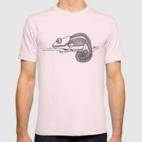 Chameleon  Mens Fitted Tee Light Pink SMALL