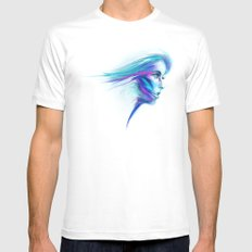 REVERIE Mens Fitted Tee White SMALL