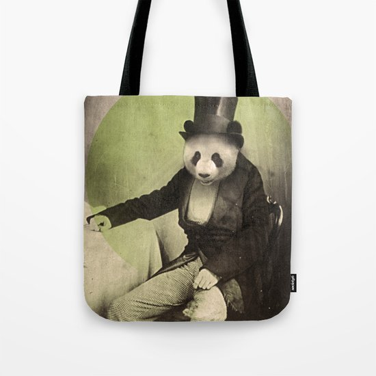 Proper Panda Tote Bag