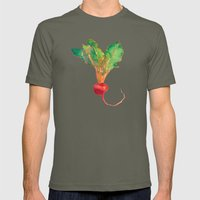 red beet Mens Fitted Tee Lieutenant SMALL