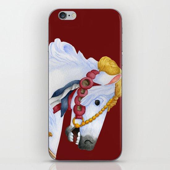 Carousel Horse - Saffron iPhone & iPod Skin