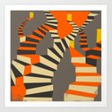 Lost and Found (im right here if you are) Art Print