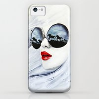 iPhone 5c Cases featuring Wild Horses by anna hammer