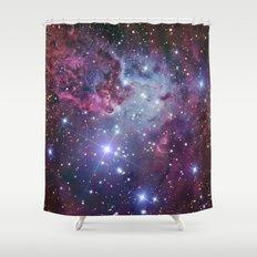 Nebula Galaxy Shower Curtain