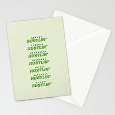 Everyday I'm Hustlin' Stationery Cards