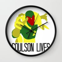 Agent Coulson, My One Go… Wall Clock
