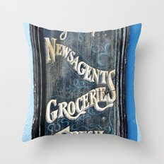 One Stop Shop Throw Pillow