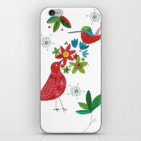Birds meeting iPhone & iPod Skin