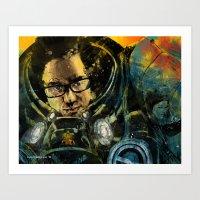Starcraft Marine Art Print