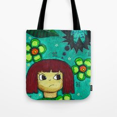 Fighting with your demons Tote Bag