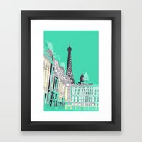 Glorious Paris - Duck Eg… Framed Art Print