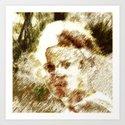past life  Art Print