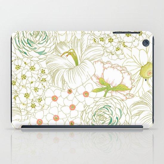 Big Blooms iPad Case