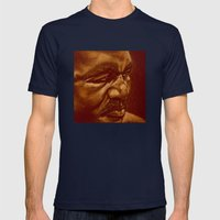 The Real Deal Mens Fitted Tee Navy SMALL