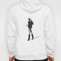 Fringe - Fashion Illustr… Hoody