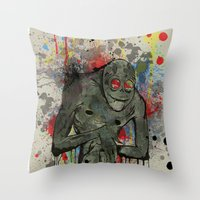 Boogie Man Throw Pillow