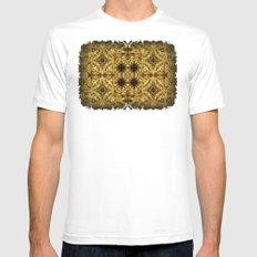 Cirubia Tablet White SMALL Mens Fitted Tee