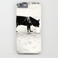 iPhone & iPod Case featuring Dog on the street by Ria Pi
