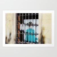 Poster Behind Bars, Ital… Art Print