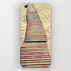 Beach path iPhone & iPod Skin