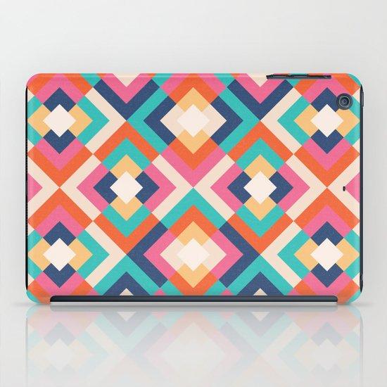 Colorful Geometric iPad Case