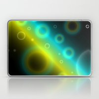 Bubbles Abstract Background G115 Laptop & iPad Skin