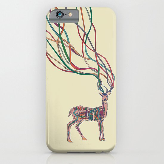 Deer Ribbons iPhone & iPod Case