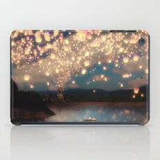 Love Wish Lanterns iPad Case
