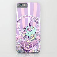 iPhone & iPod Case featuring Fantasy Chameleon by Kami