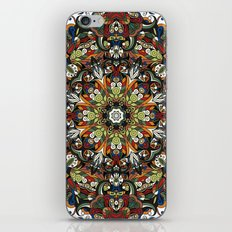 Boho Geometric Mandela Pattern 1 iPhone & iPod Skin
