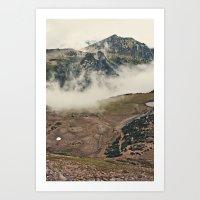 Mountain Hike Art Print