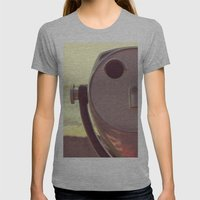 viewfinder  Womens Fitted Tee Athletic Grey SMALL