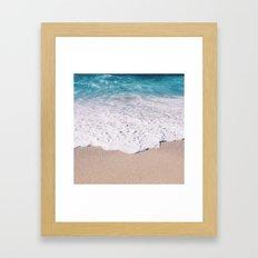 Beach Shore  Framed Art Print