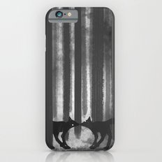 foxes in the forest iPhone 6 Slim Case