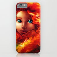 iPhone & iPod Case featuring Brave by Peach Momoko