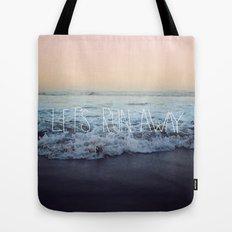 Let's Run Away x Arcadia Beach Tote Bag