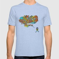 Thinking Of Monsters Mens Fitted Tee Athletic Blue SMALL