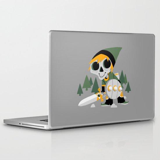 Skull Sword Guy Laptop & iPad Skin
