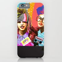 iPhone & iPod Case featuring ***FLASH BACK*** by Olive Primo Design + Illustration